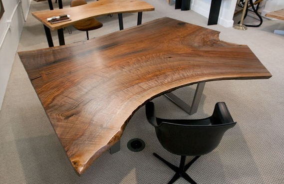 Awesome desk - by urban hardwoods