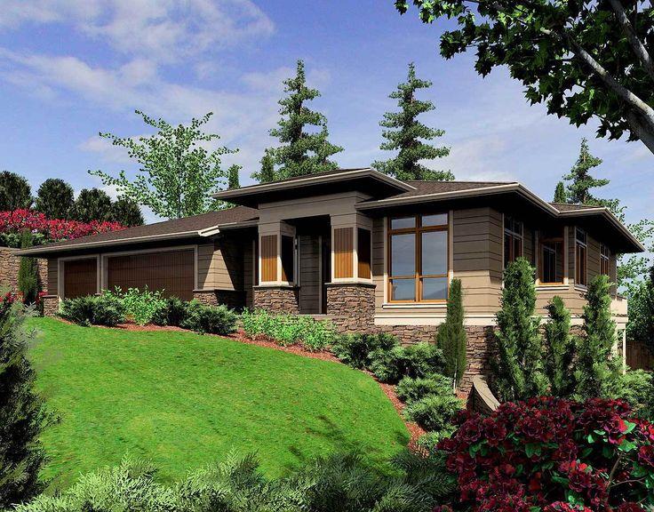 Modern Prairie-Style Home Plan - 6966AM | Architectural Designs - House Plans
