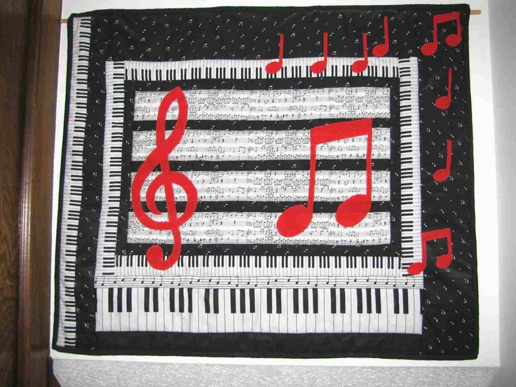 38 Best Images About Quilts Music On Pinterest
