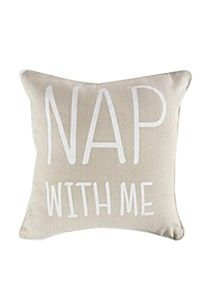 NOVELTY SCRIPT SCATTER CUSHION 40X40CM