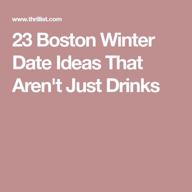 just drinks dating