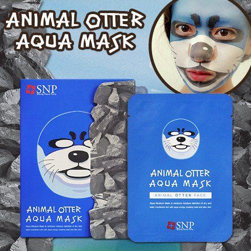 [SNP] ANIMAL OTTER AQUA MASK (1 BOX)