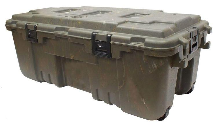 Xxl Lockable Storage Trunk Wheels Travel Security Case