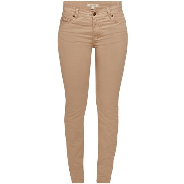 Lastest Beige SKU  Wholesale VANCL Slim Fit Khaki Drill Pants Women