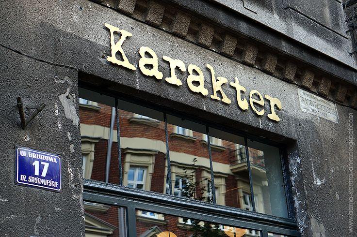 Karakter (Kraków)   dania kontra ania   opinie o restauracjach w Krakowie   nowe restauracje   podróże kulinarne