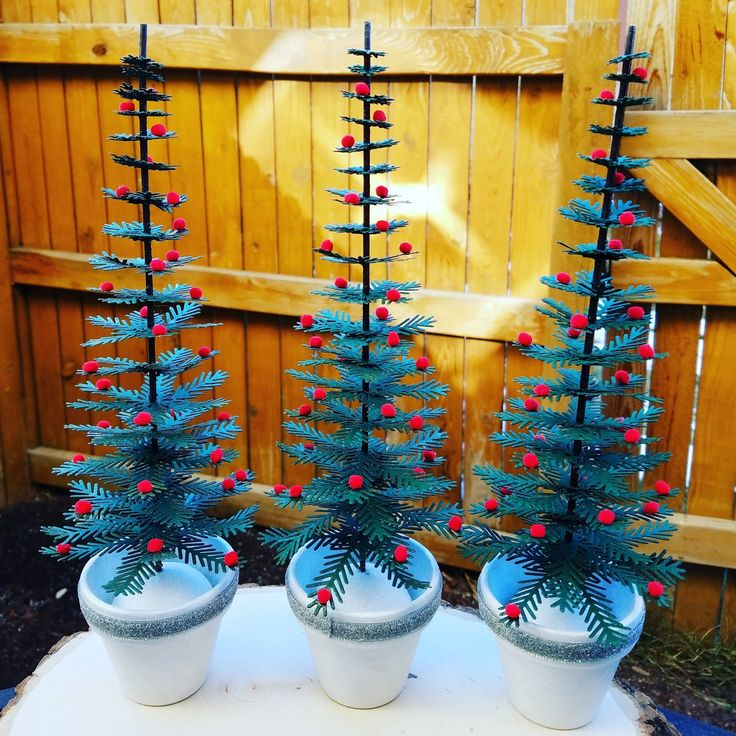 Corilyn's Creations: Mini Christmas trees #concordand9th