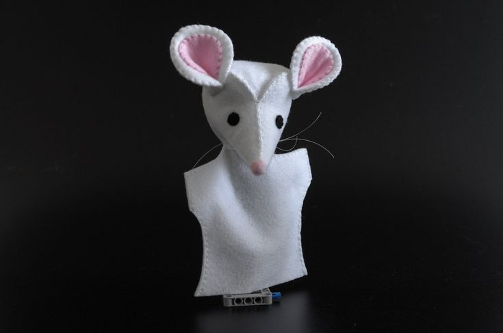 Little mice - mouse ears, mouse rat, mouse figurine, hand puppets, puppetry, puppet theater - by KinkinPuppets on Etsy