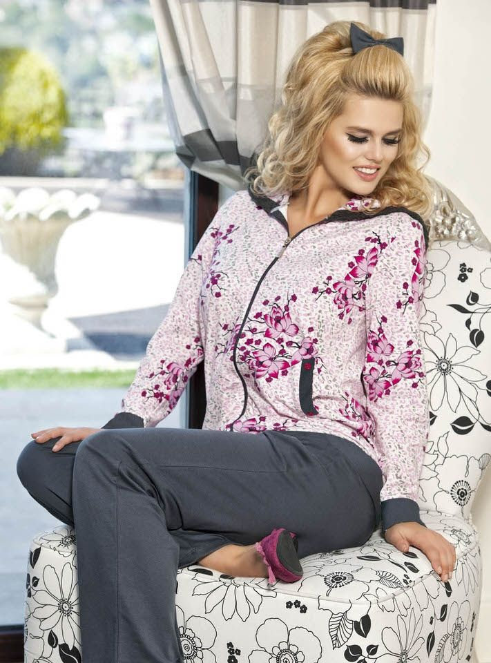 Kapşonlu Bayan #PijamaTakımı 5058   Anıt #BayanPijama Koleksiyonu http://www.camasirim.com/marka/anit-23-2775