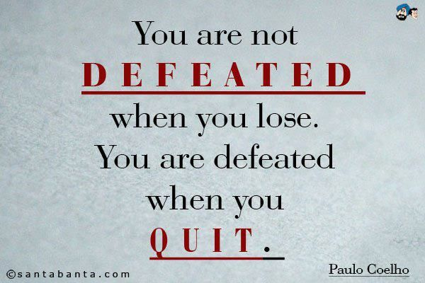 dont ever give up, take a rest maybe a slightly different path but dont give up x