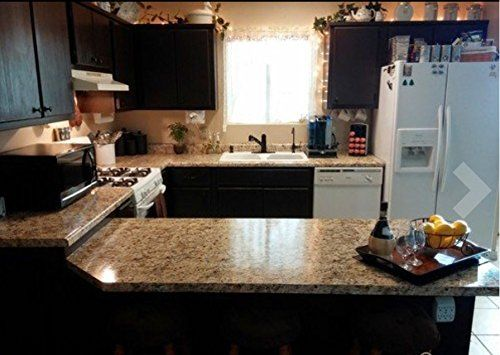 """Instant Granite Counter Top Cover Santa Cecilia 36"""" X 144... https://www.amazon.com/dp/B006KC88RE/ref=cm_sw_r_pi_dp_x_I4eUybSNW8ZQY"""