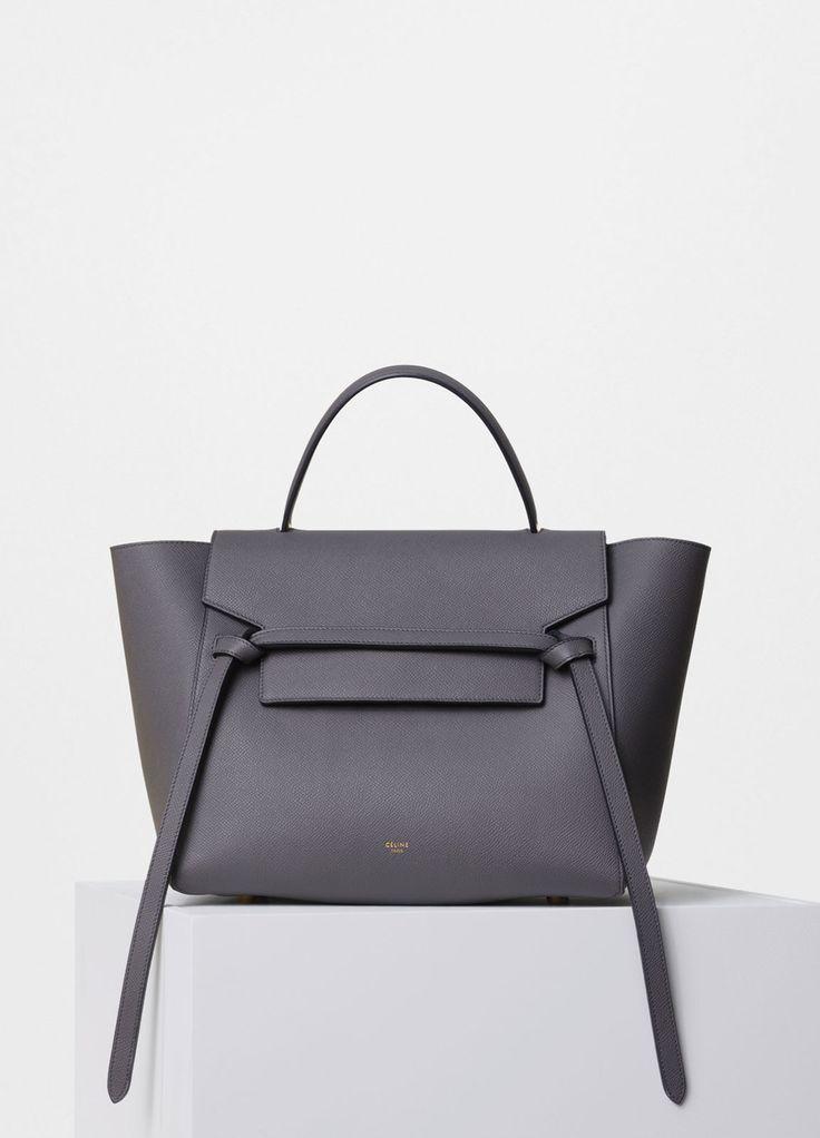 Mini Belt Bag in Grained Calfskin - Céline