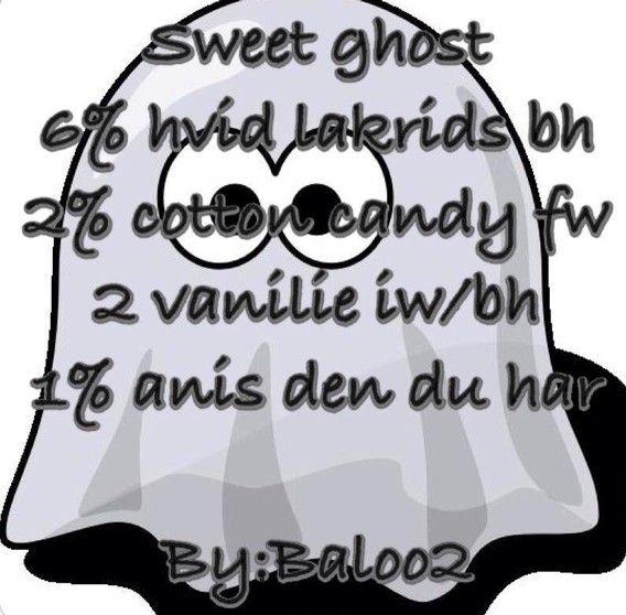 <b>Sweet ghost</b><br /><b>Baloo2</b> har tilladt at vi må bruge hans opskrifter.