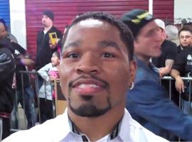 "Shawn Porter ""We didn't really speak names but obviously you're on the undercard of Pacquiao-Mayweather"""