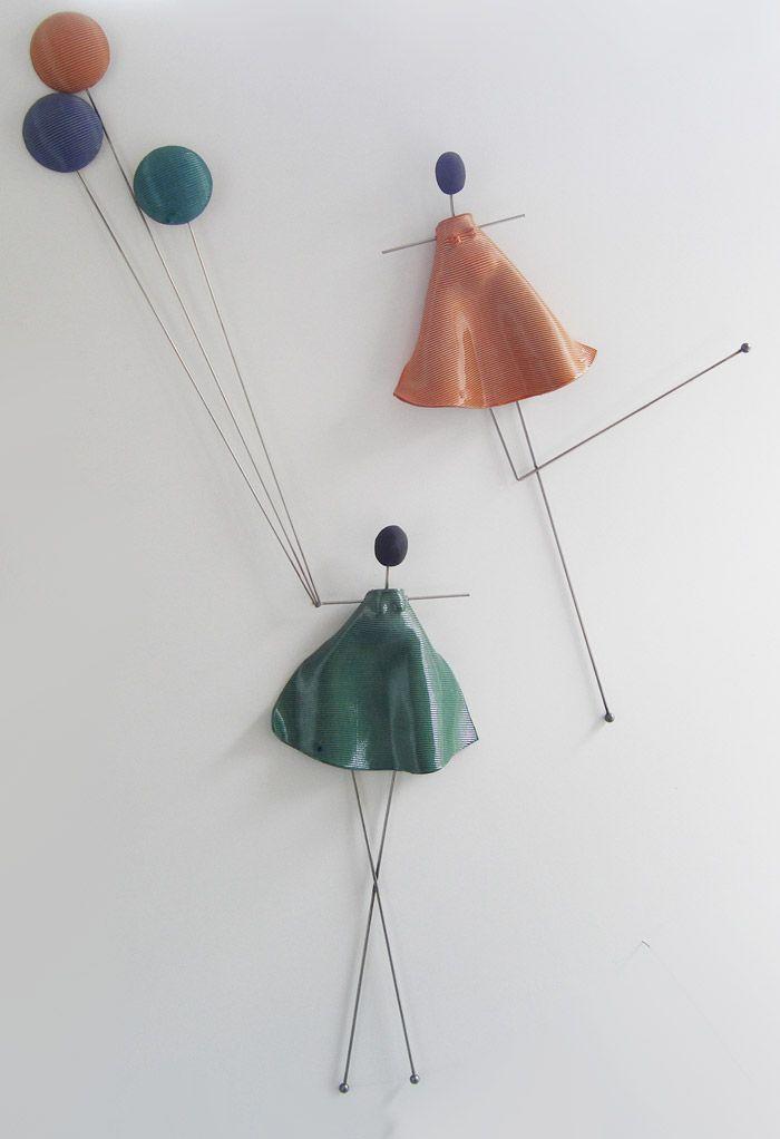N-40 A+B & N-41  Φιγούρα Τοίχου & Μπαλόνια    Ontule Figure with Balloons