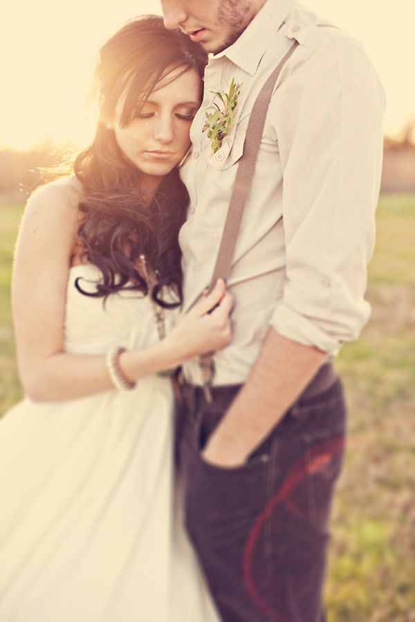 {groom in suspenders}