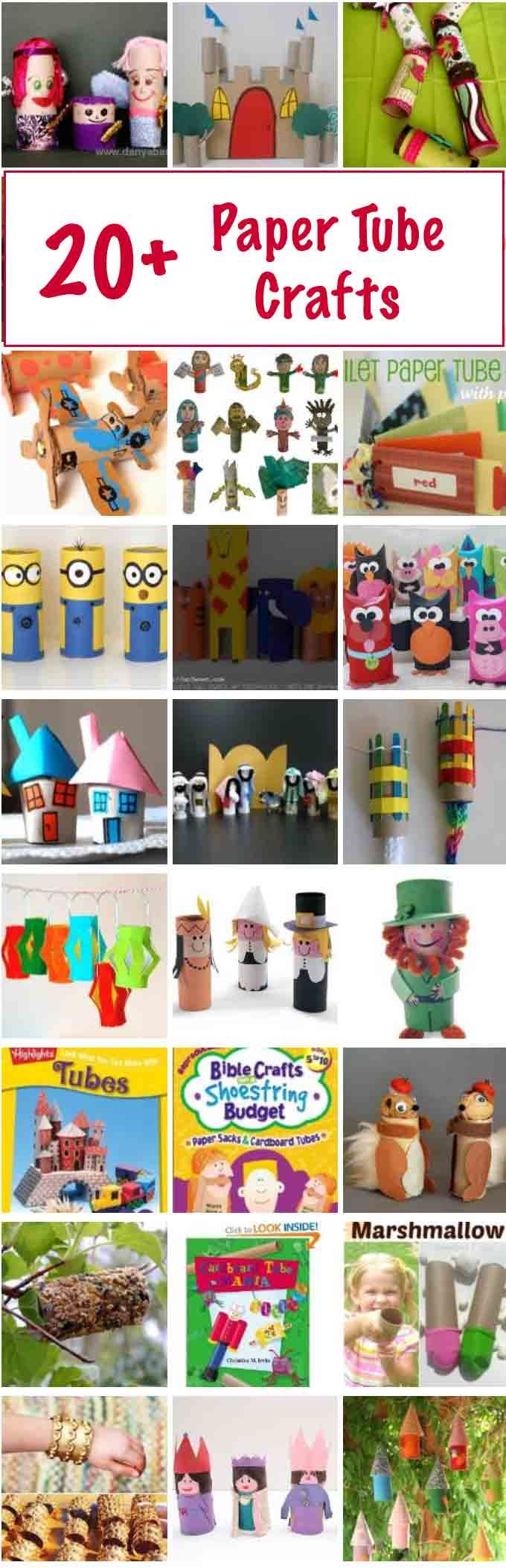 20+ Toilet Paper Roll Crafts: Paper Tube Fun