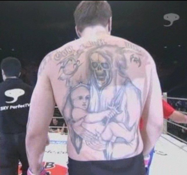 Resultado de imagem para alexander emelianenko tattoos