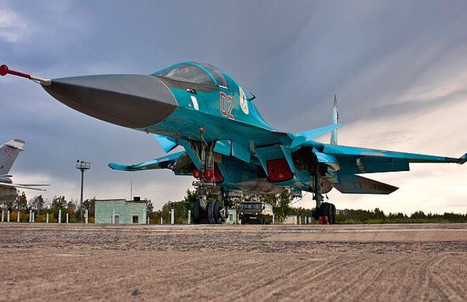 Russian Sukhoi Su-34