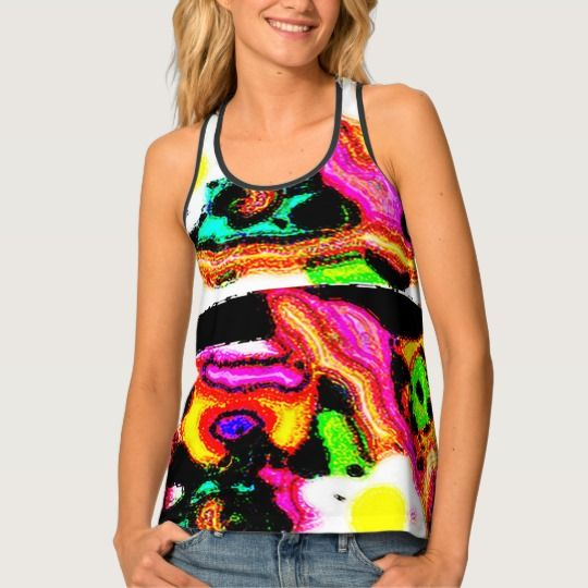 "Beautiful Shirt""Love in Summer"" Design Tank Top"