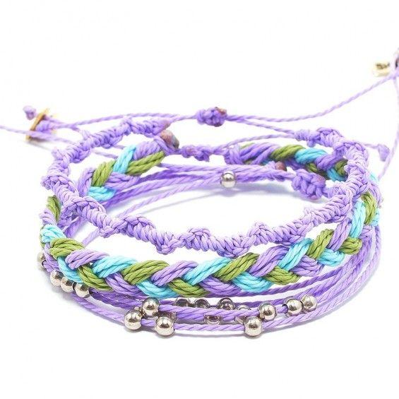 Zestaw -light purple, light blue, pistachio II