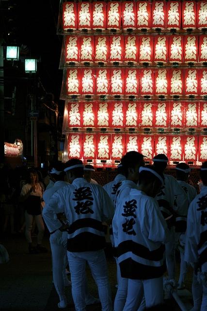 Kishiwada Danjiri Festival, Osaka, Japan 岸和田だんじり