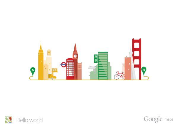 CJWHO ™ (Google Maps - Hello World | Matt Delbridge Print...)