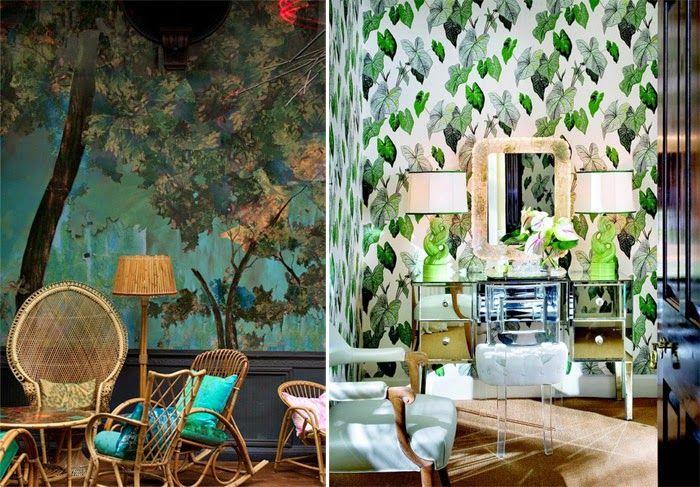 Модный интерьерный тренд: тропики | IVOREE
