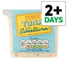 Tesco Tuna And Sweetcorn Sandwich Filler 270G