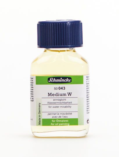 Schmincke Medium W Oil Paint Additive