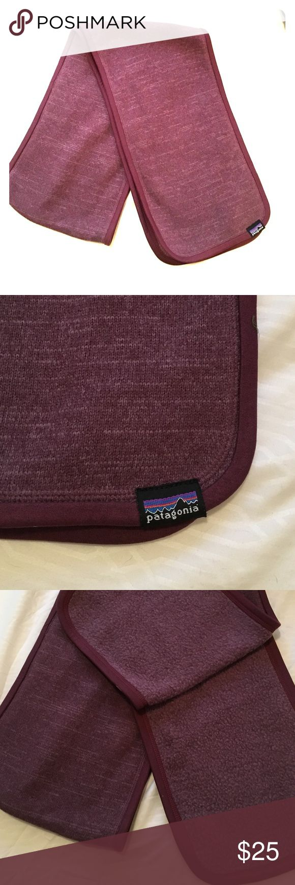 Patagonia Better Sweater Scarf Dark purple,  Patagonia, Better Sweater Scarf. Super soft, fleece on the inside. Patagonia Accessories Scarves & Wraps