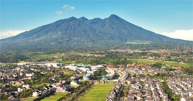 Salak mountain. West java