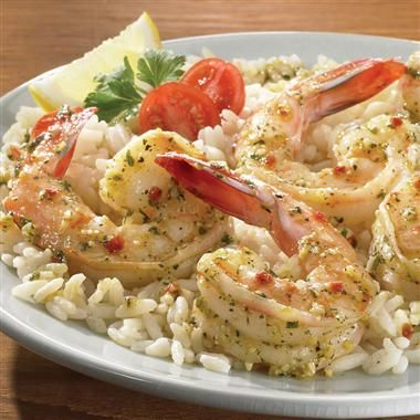 Parmesan Herb Shrimp - easy, fast and yummy.  My three favorite words when it comes to food.  I replaced the white wine with apple juice and then eyeballed the parmesan and garlic powder instead of using the Perfect Pinch seasoning