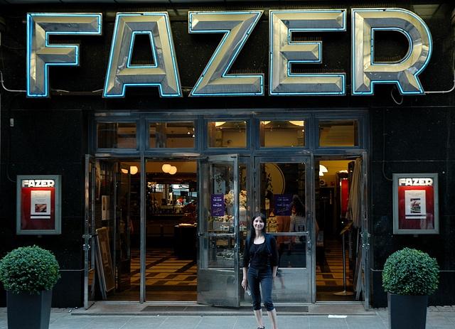 BEST! Karl Fazer Café in Helsinki