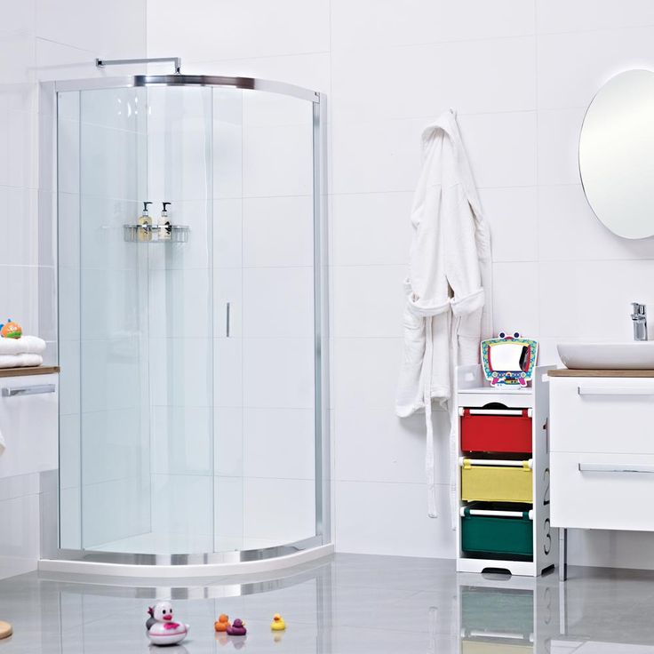 Best Quadrant Shower Enclosure Part - 36: The Lumin8 One Door Quadrant Shower Enclosure --- An Ideal Solution For  Smaller Bathrooms