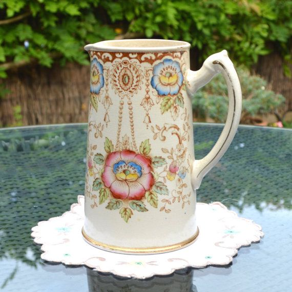 Samuel Johnson Water Jug or Milk Pitcher Made in by Wicksteads