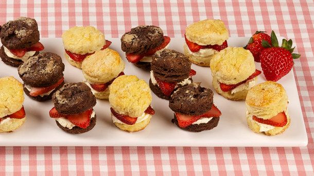Mini Lemon Scones with Strawberries and Cream | Canadian Living Best Recipes Ever
