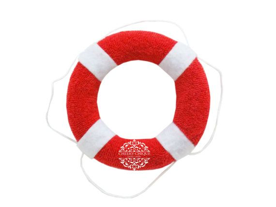 THE ORIGINAL CREATOR, Washcloth Life Preserver, Life Ring, Ring Buoy by Cheeky Chique Baby
