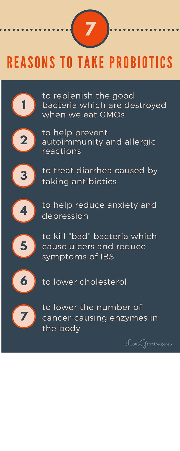7 Reasons To Take Probiotics