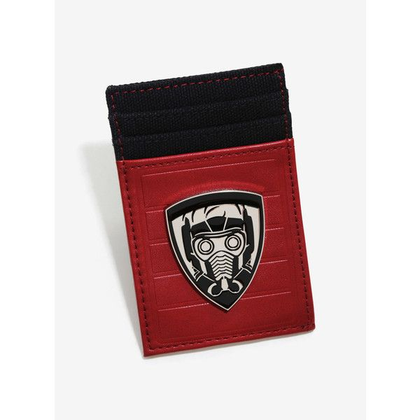 Marvel Guardians Of The Galaxy Metal Pocket Wallet ($12) ❤ liked on Polyvore featuring bags, wallets, accessories, red wallet, pocket wallet, slim card case wallet, slim wallet and metal card holder wallet