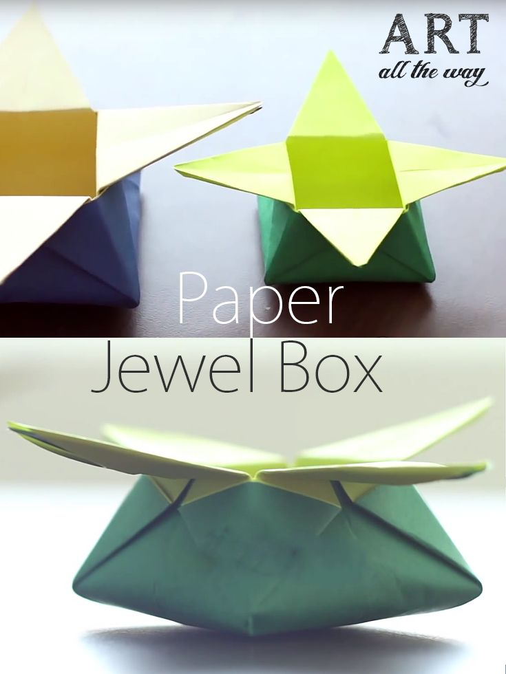How to make a Paper Jewel Box : https://goo.gl/YmXzlM