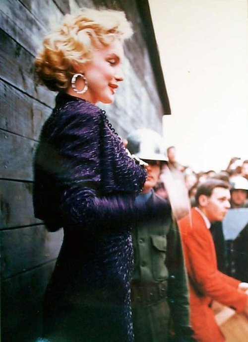 Marilyn Monroe - February 1954 - visiting and entertaining the US troops in Korea