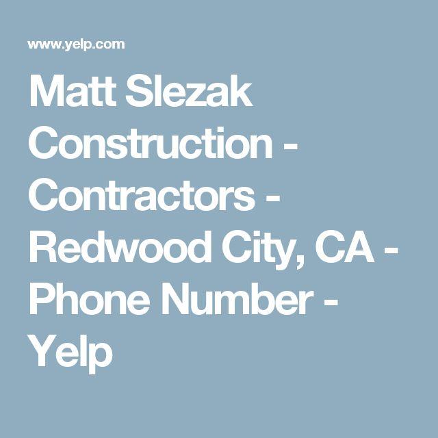 Matt Slezak Construction - Contractors - Redwood City, CA - Phone Number - Yelp