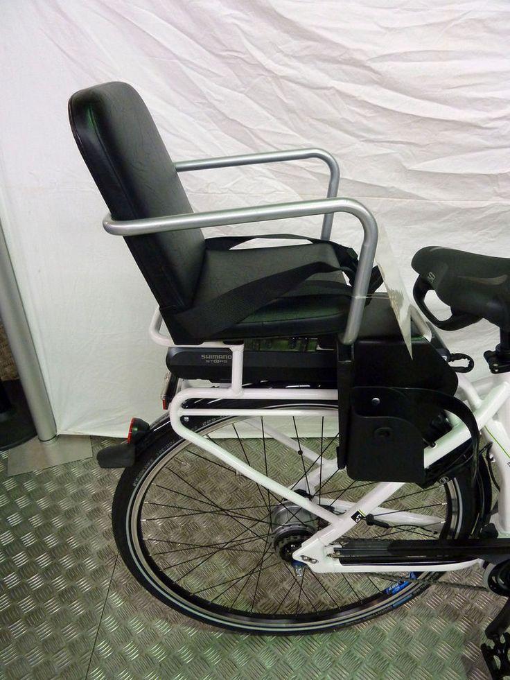 E-Bike/Fahrrad Kindersitz, sehr Stabil, einfache Montage, für Hinten