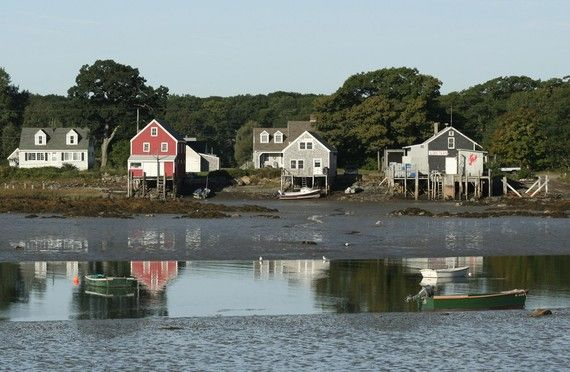 SALE Lobster house at Cape Porpoise Maine  5 x by CelesteCotaPhoto, $10.00