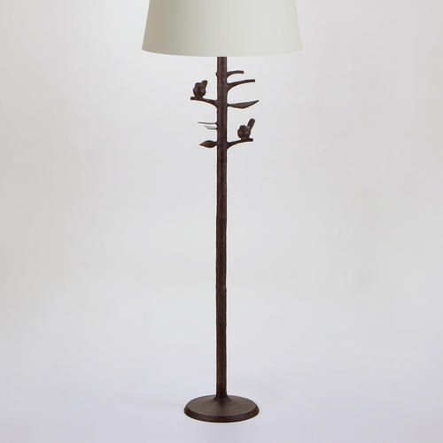 One of my favorite discoveries at WorldMarket.com: Woodlands Floor Lamp Base 51 in high