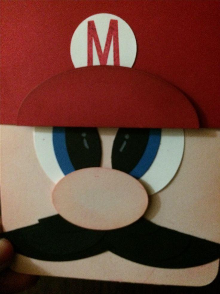 Mario gift card