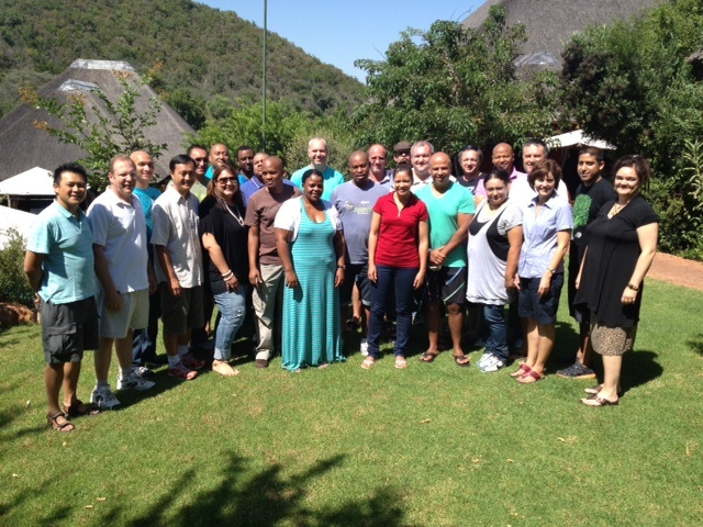 Vodacom Conference Group at Intundla Game Lodge