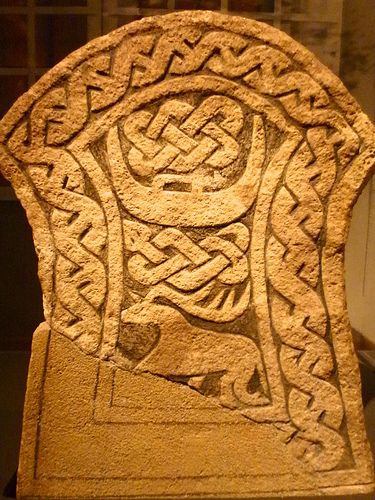 Viking carving. National Historical Museum of Scotland.