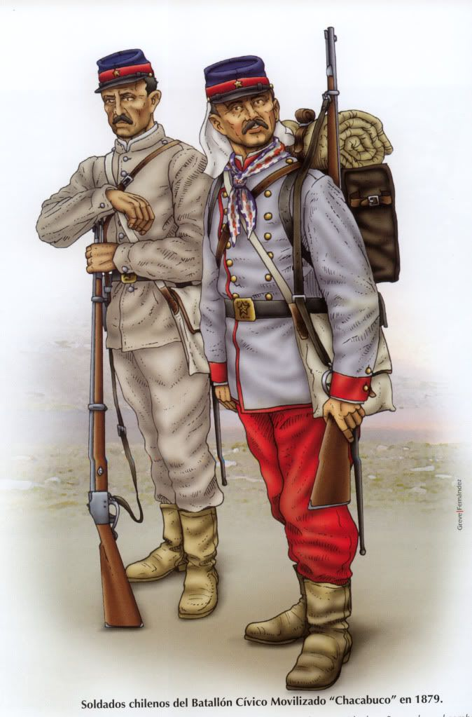 "Chilean Battalion Civico Movilizado ""Chacabuco"""