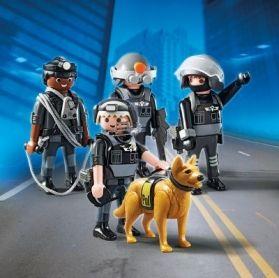 Playmobil Ομάδα Άμεσης Δράσης (5565)- 9.99